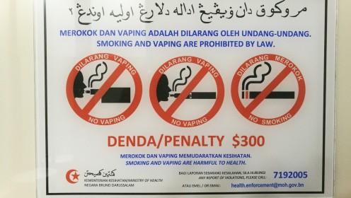kuigi suitsetamine on keelatud, siis tegelikult kohatasime mitmeid suitsetajaid, lihtsalt avalikus kohas jäetakse suits ette panemata.