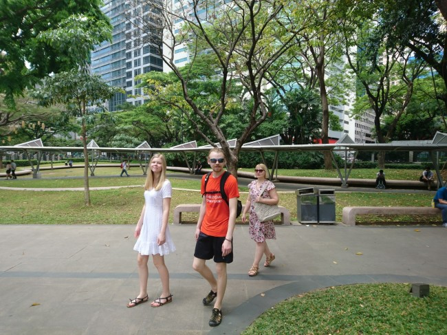 turistid linnas