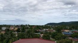 vaade hotelli katuselt.