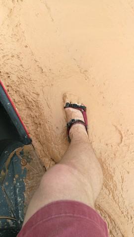Hoiatati, et tee võib mudaseks minna. Seekord oli kohalikel õigus.