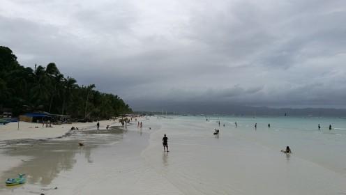 teiselt poolt vaade rannale