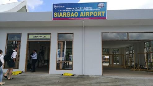 lennujaam ei olnud just kõige suurem.