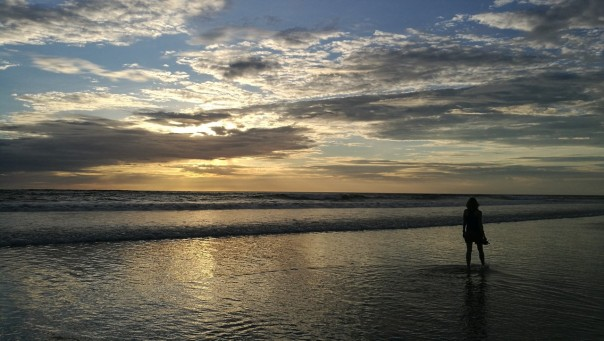 päikeseloojang oli suht kena
