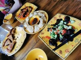 jakilihapirukas, baklažaan, tšilliga kurk ja momod (kartulipudrupirukas)