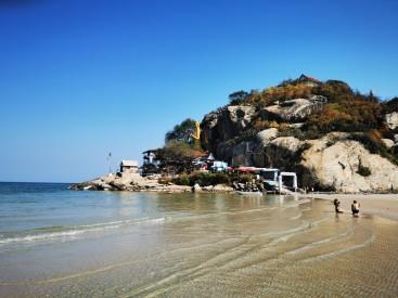 Korra käisime rannas ka. Buddha vaatamas.
